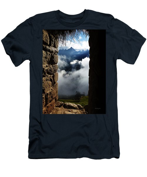 Machu Picchu Peru 4 Men's T-Shirt (Athletic Fit)