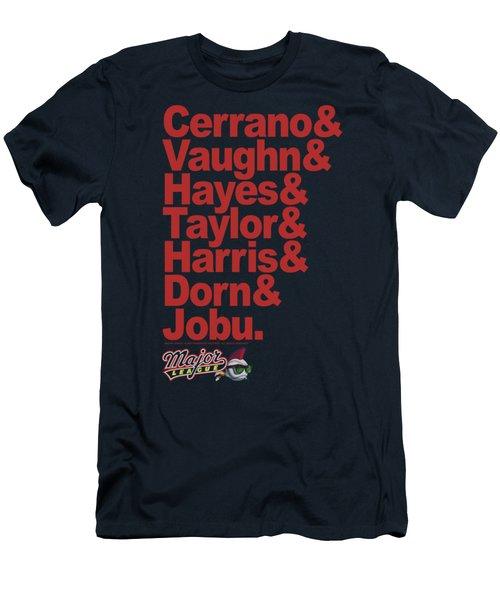 Major League - Team Roster Men's T-Shirt (Athletic Fit)