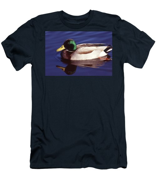 Mallard In The Mirror Men's T-Shirt (Athletic Fit)