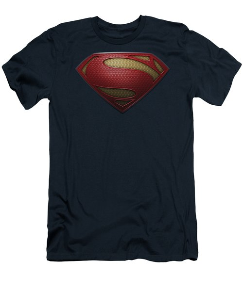 Man Of Steel - Mos Shield Men's T-Shirt (Athletic Fit)