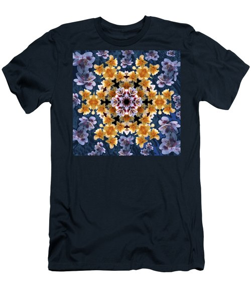 Mandala Alstro Men's T-Shirt (Slim Fit) by Nancy Griswold