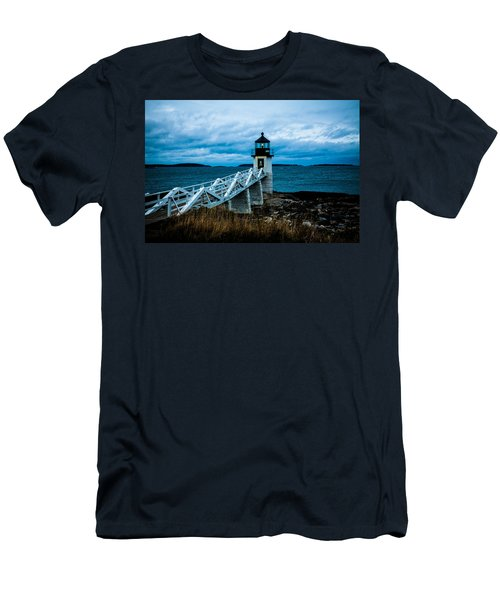 Marshall Point Light At Dusk 2 Men's T-Shirt (Athletic Fit)