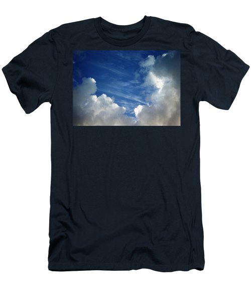 Maui Clouds Men's T-Shirt (Slim Fit) by Evelyn Tambour