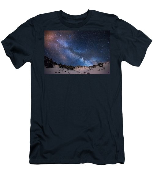 Mayflower Gulch Milky Way Men's T-Shirt (Athletic Fit)