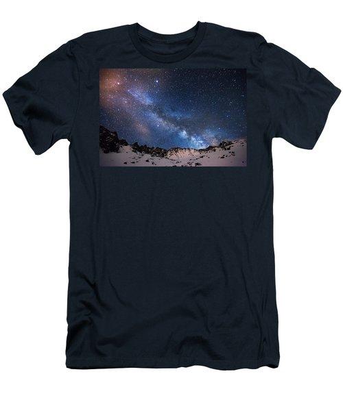 Mayflower Gulch Milky Way Men's T-Shirt (Athletic Fit)