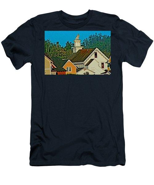 Mendocino California Men's T-Shirt (Athletic Fit)