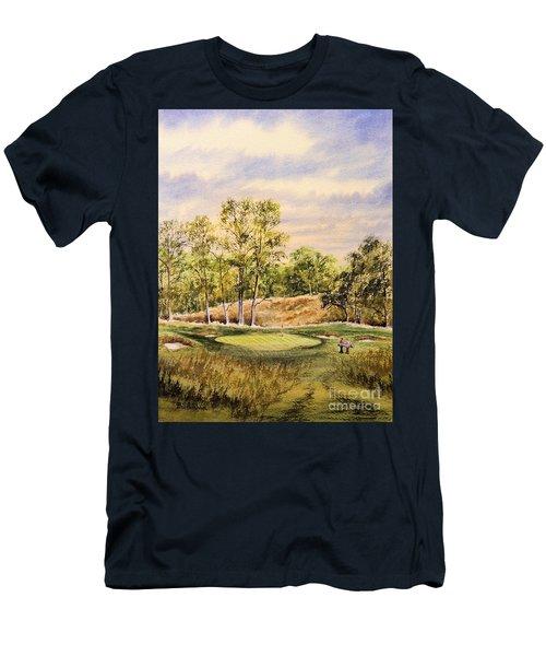 Merion Golf Club Men's T-Shirt (Slim Fit) by Bill Holkham