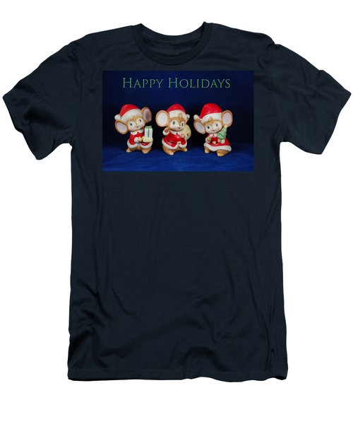 Mice Holiday Men's T-Shirt (Athletic Fit)