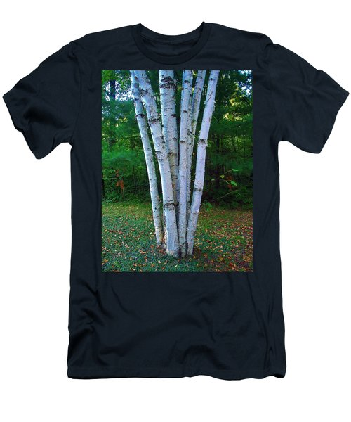 Men's T-Shirt (Slim Fit) featuring the photograph Micro-grove by Daniel Thompson