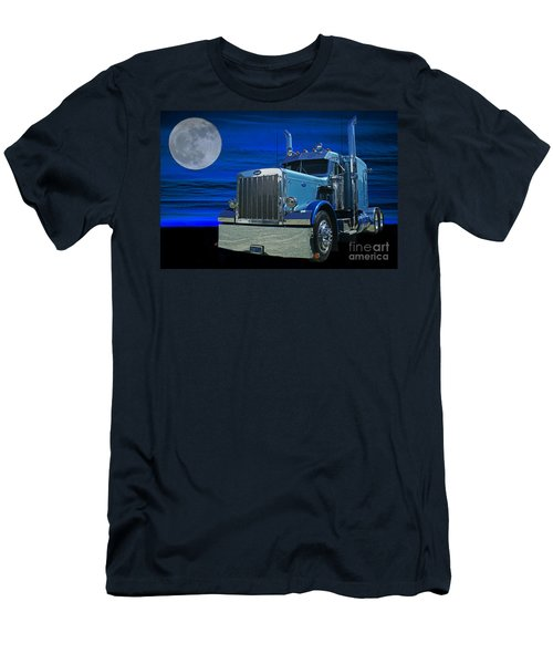 Midnight Peterbilt Men's T-Shirt (Athletic Fit)