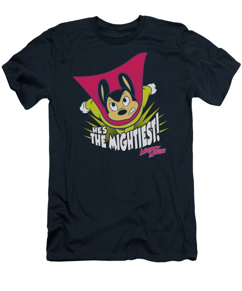 Mighty Mouse - The Mightiest Men's T-Shirt (Slim Fit) by Brand A