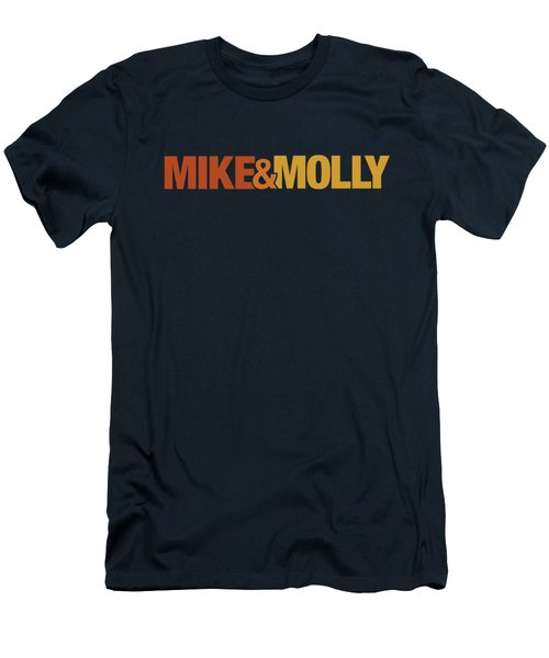 Mike And Molly - Logo Men's T-Shirt (Athletic Fit)