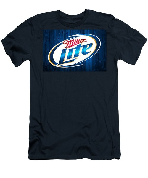 Miller Lite Barn Door Men's T-Shirt (Athletic Fit)