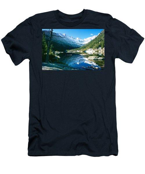 Mills Lake Men's T-Shirt (Slim Fit) by Eric Glaser