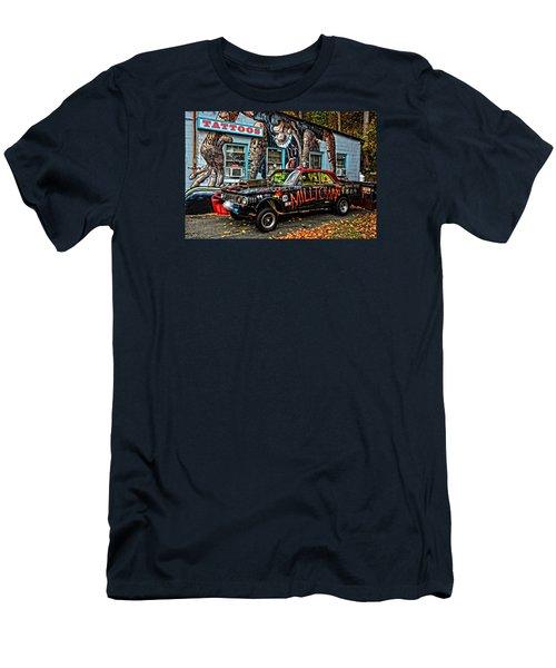 Milltown's Edsel Comet Men's T-Shirt (Slim Fit) by Mike Martin
