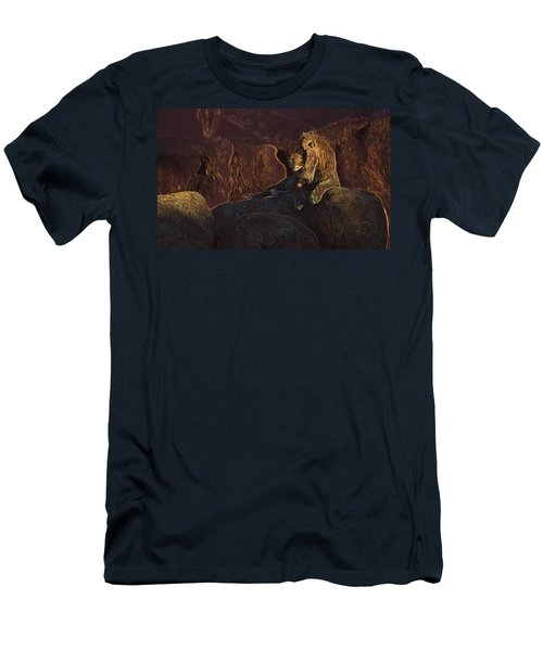 Men's T-Shirt (Slim Fit) featuring the photograph Mister Majestic by David Andersen