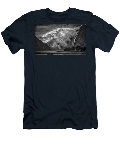 Men's T-Shirt (Athletic Fit) featuring the photograph Misty Milford by Chris Cousins