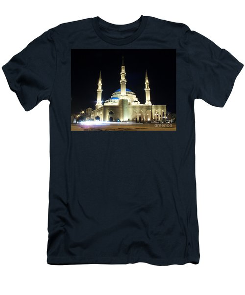 Mohammad Al-amin Mosque In Beirut Lebanon Men's T-Shirt (Athletic Fit)