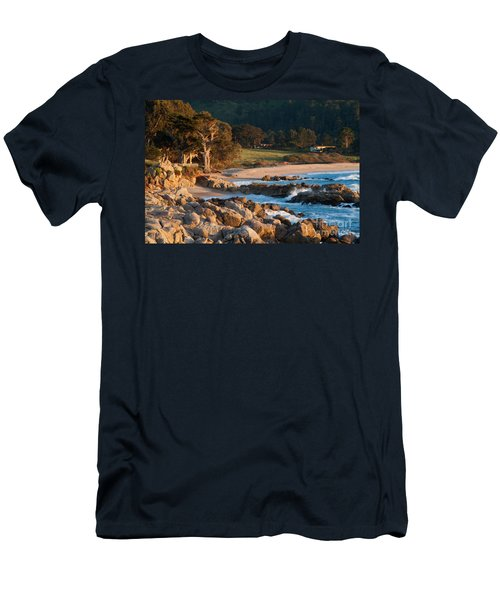 Monastery Beach In Carmel California Men's T-Shirt (Athletic Fit)