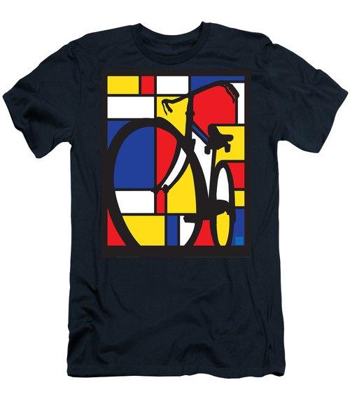 Mondrian Bike Men's T-Shirt (Athletic Fit)