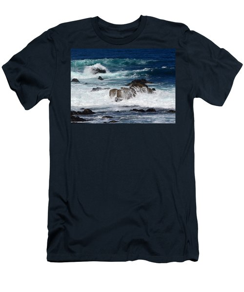Men's T-Shirt (Slim Fit) featuring the photograph Monterey-6 by Dean Ferreira