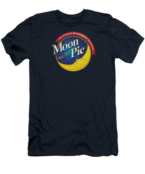 Moon Pie - Current Logo Men's T-Shirt (Athletic Fit)