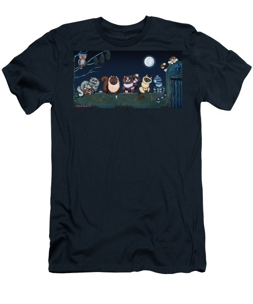 Moonlight On The Wall Men's T-Shirt (Athletic Fit)
