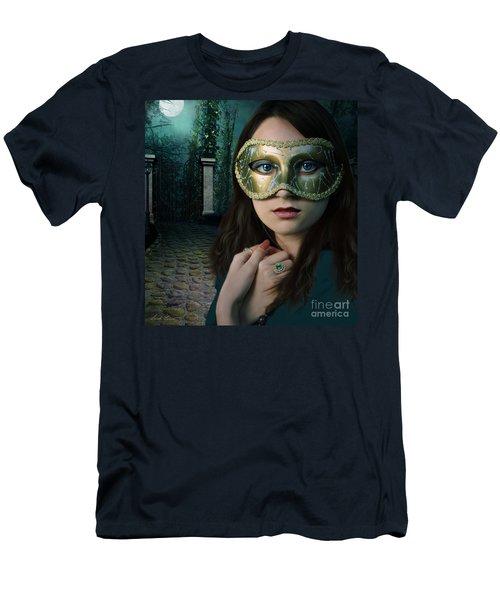 Moonlight Rendezvous Men's T-Shirt (Athletic Fit)