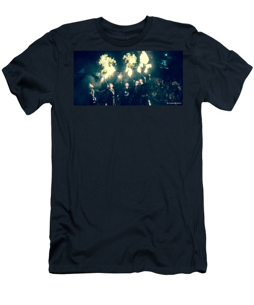 Men's T-Shirt (Athletic Fit) featuring the photograph Moorish Army  by Stwayne Keubrick