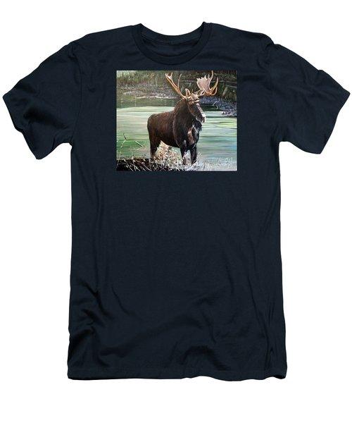 Moose County Men's T-Shirt (Slim Fit)
