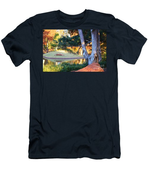 Morning In The Park Men's T-Shirt (Athletic Fit)