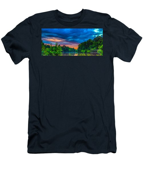 Morning On The Lake Men's T-Shirt (Athletic Fit)