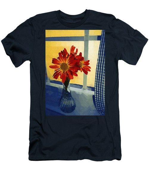 Morning Window Men's T-Shirt (Athletic Fit)