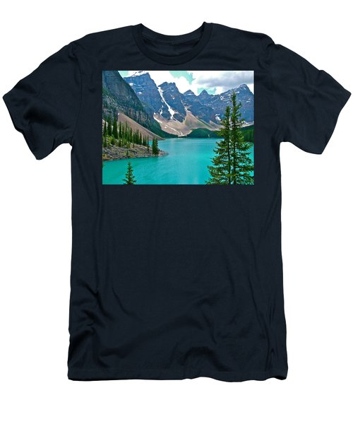 Morraine Lake In Banff Np-alberta Men's T-Shirt (Athletic Fit)
