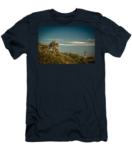Morris Island Light Charleston Sc Men's T-Shirt (Athletic Fit)