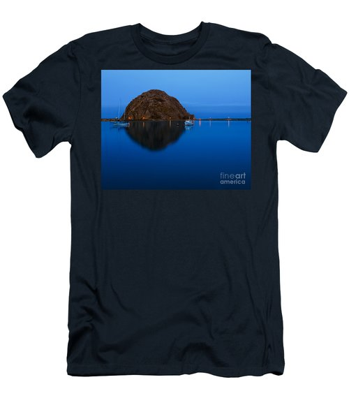 Morro Bay Calm Morning Men's T-Shirt (Athletic Fit)