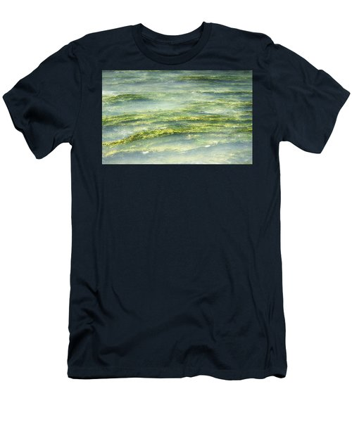 Men's T-Shirt (Slim Fit) featuring the photograph Mossy Tranquility by Melanie Lankford Photography