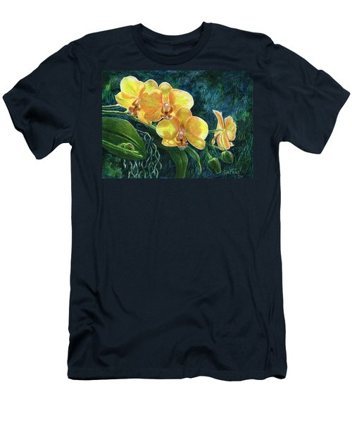 Moth Orchids Men's T-Shirt (Athletic Fit)