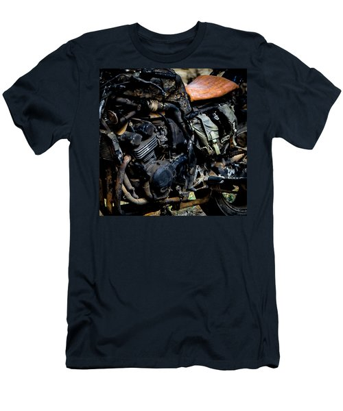 Motorbike Men's T-Shirt (Slim Fit) by Edgar Laureano