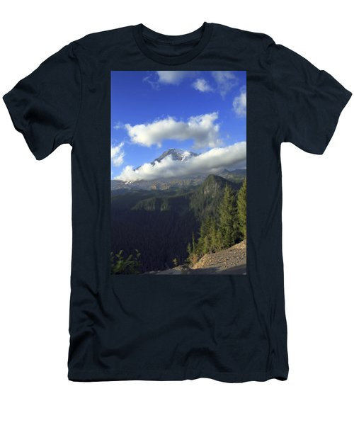 Mount Rainier Men's T-Shirt (Athletic Fit)