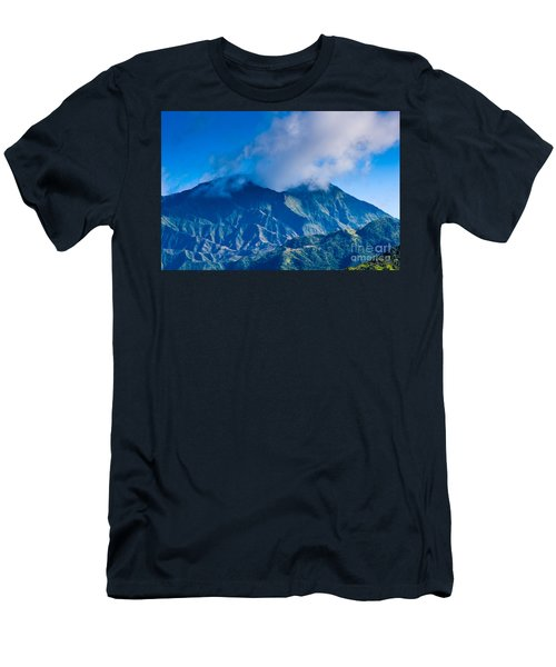 Mount Wai'ale'ale  Men's T-Shirt (Athletic Fit)