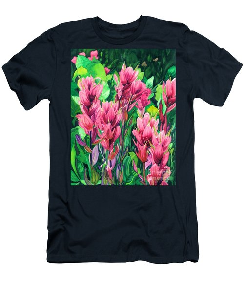 Mountain Meadows' Paintbrush Men's T-Shirt (Athletic Fit)