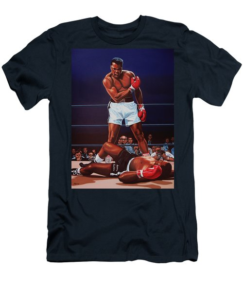Muhammad Ali Versus Sonny Liston Men's T-Shirt (Athletic Fit)