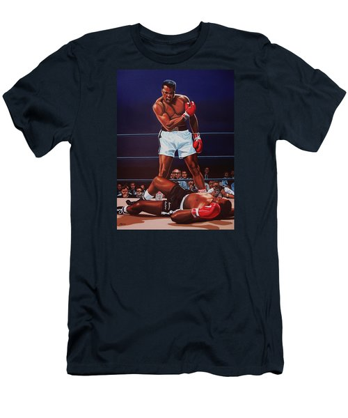 Muhammad Ali Versus Sonny Liston Men's T-Shirt (Athletic Fit)