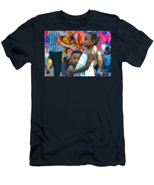 My Brother's Keeper Men's T-Shirt (Slim Fit) by Sean Griffin