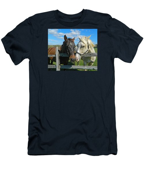 My Buddy Men's T-Shirt (Slim Fit) by Emmy Marie Vickers