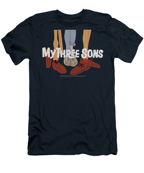 My Three Sons - Shoes Logo Men's T-Shirt (Athletic Fit)