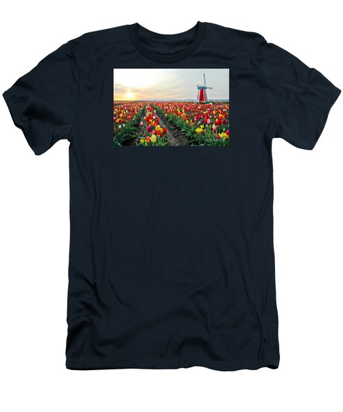 My Touch Of Holland 2 Men's T-Shirt (Slim Fit) by Nick  Boren
