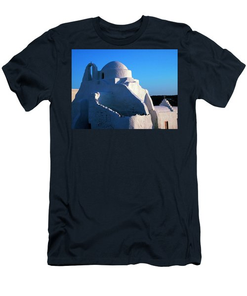 Men's T-Shirt (Slim Fit) featuring the photograph Mykonos Island Greece by Colette V Hera  Guggenheim