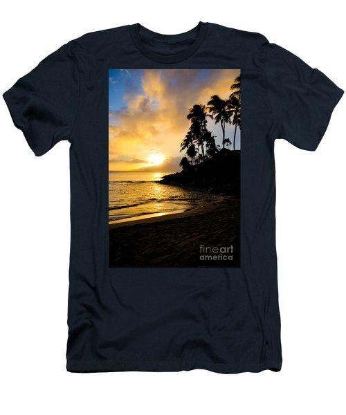 Napili Sunset Evening  Men's T-Shirt (Slim Fit) by Kelly Wade